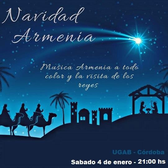 Navidad armenia en UGAB Córdoba 2020